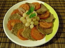 Ricetta bistecche con cipolline in agrodolce