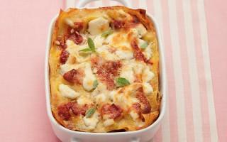 Ricetta lasagne con melanzane, ricotta e basilico