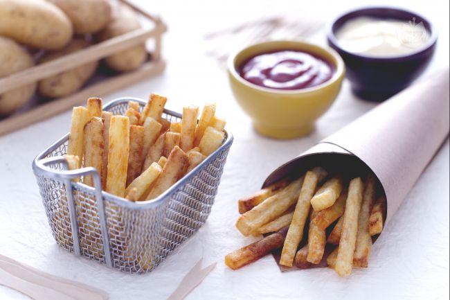 Ricetta patatine fritte alla belga