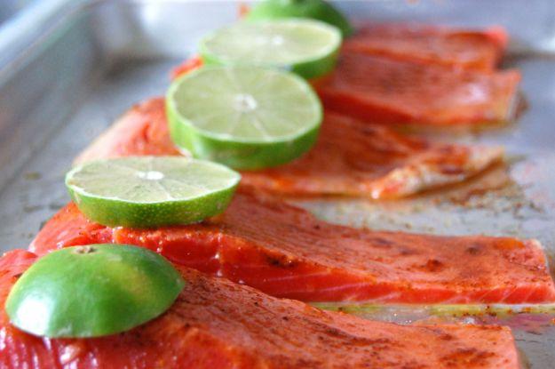 Ricetta tranci di salmone al lime
