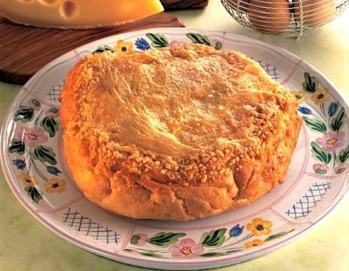 Torta soffiata al formaggio