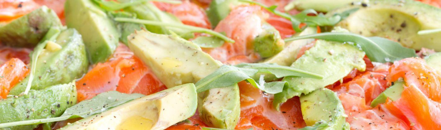 Ricetta carpaccio di salmone con avocado