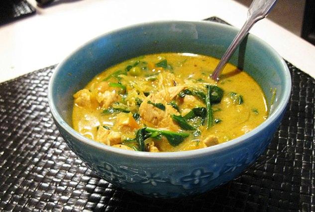 Crema di pollo al curry