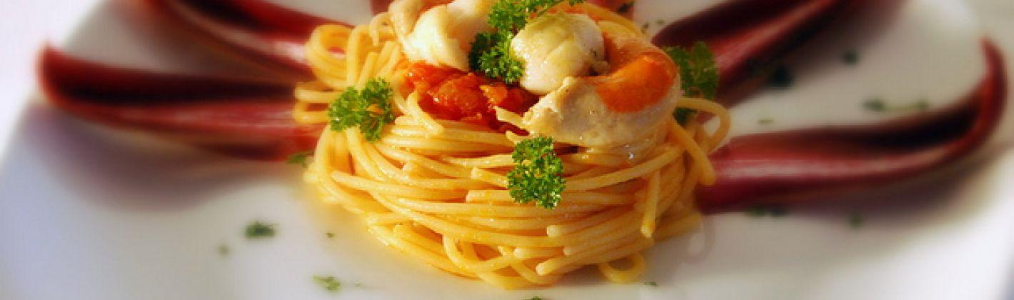 Ricetta spaghetti con capesante al profumo di agrumi