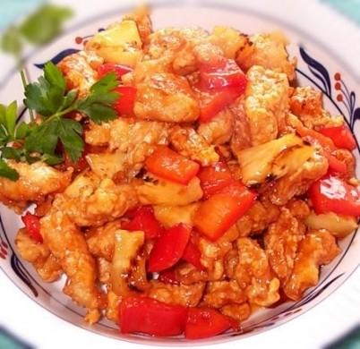 Ricetta pollo in agrodolce
