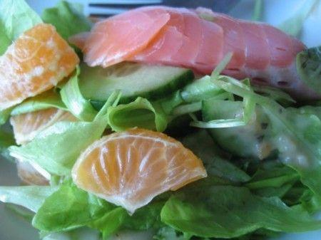 Ricetta salmone con mandarini