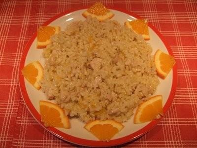 Ricetta risotto all'arancia