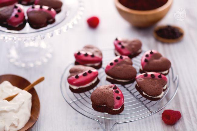 Ricetta whoopies di san valentino