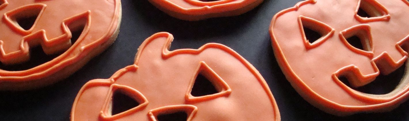 Ricetta riccetta biscotti lanterne luminose per halloween