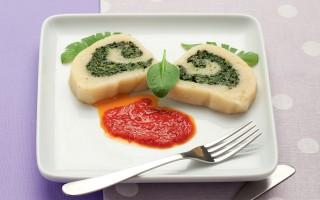 Ricetta rotolo di patate e spinaci