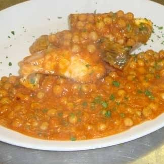 Ricetta zuppa di ceci e baccalà
