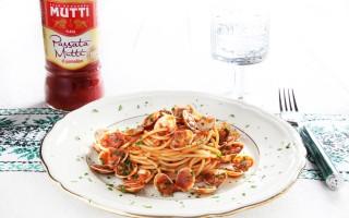 Ricetta spaghetti con sugo di lupini