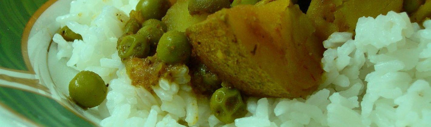 Ricetta piselli e patate