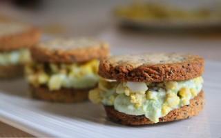 Ricetta biscotti salati asparagi e uova