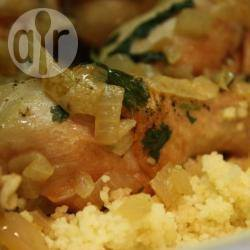 Couscous di pollo alla marocchina