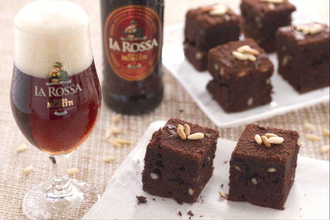 Ricetta cubotti dolci al cioccolato e birra