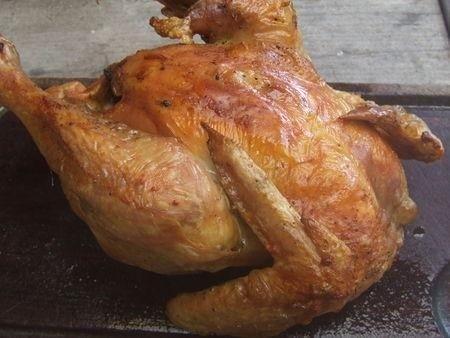 Ricetta pollo arrosto all'aglio
