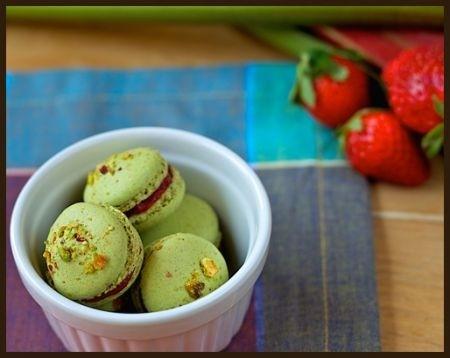Ricetta macarons al pistacchio