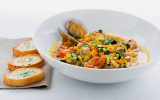 Ricetta guazzetto di frutti di mare