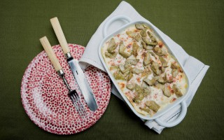 Ricetta lasagne ai carciofi