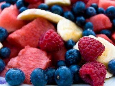 Ricetta macedonia ai frutti di bosco