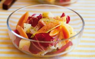 Ricetta insalata di papaia e fontina