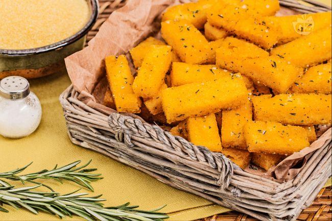Ricetta polenta chips