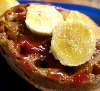 Ricetta cialde con banane caramellate
