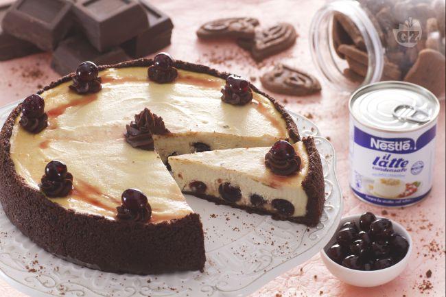 Ricetta cheesecake ricotta e amarene