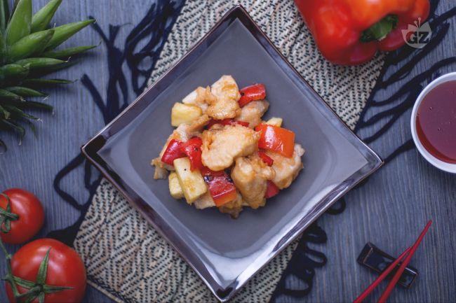 Ricetta pollo in salsa agrodolce
