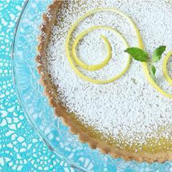 Lemon tart (crostata al limone inglese)