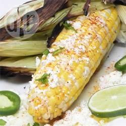 Elote (pannocchie di mais alla griglia messicane)