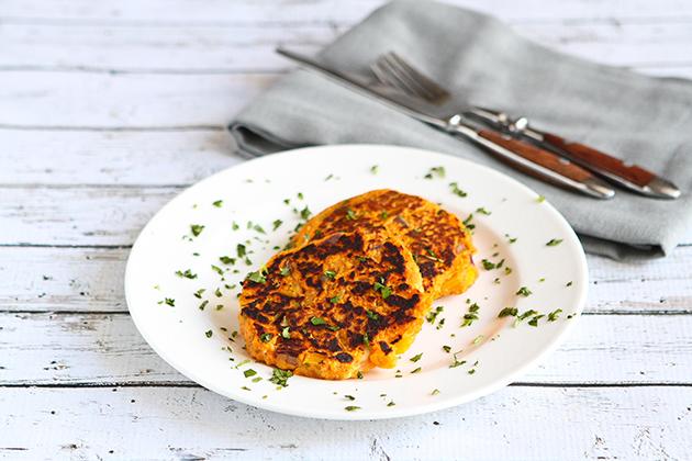 Frittelle di tonno e patate dolci  buonisssimo