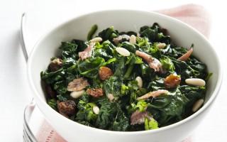 Ricetta insalata di spinaci