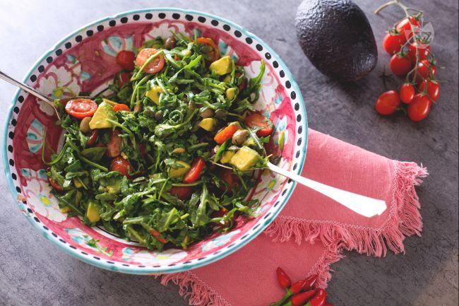 Ricetta insalata con avocado
