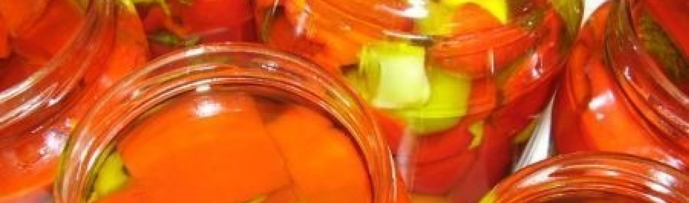Ricetta peperoni sott'olio