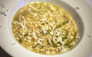 Ricetta riso di mare con gallinella, peperoni verdi friarelli, cocco ...