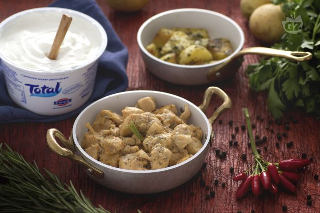 Ricetta spezzatino di pollo allo yogurt
