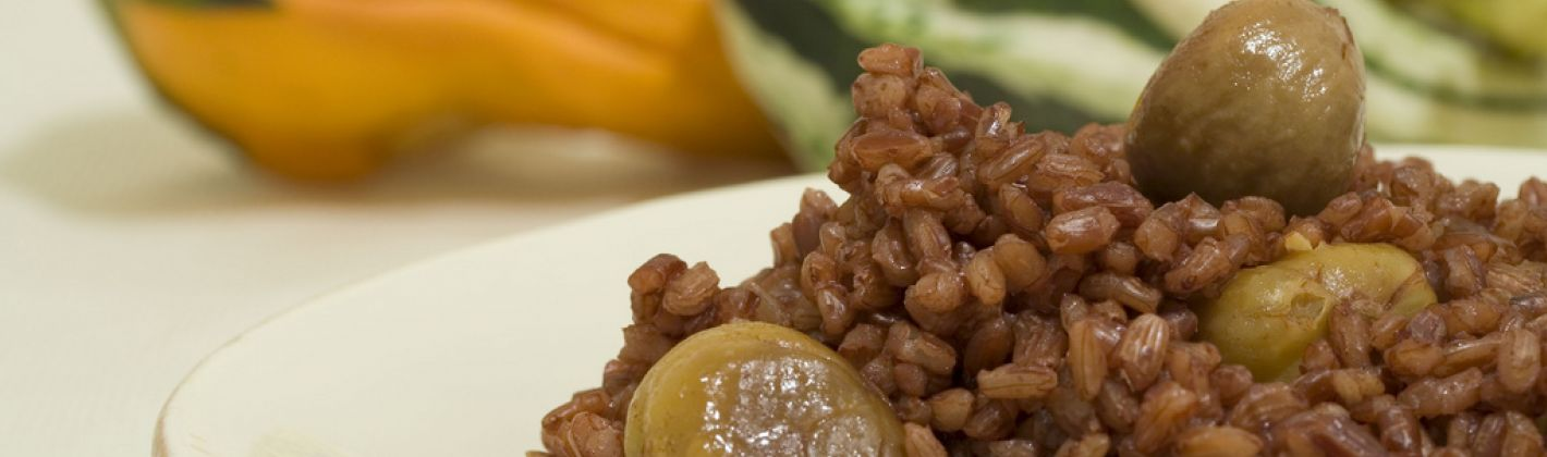 Ricetta risotto alle castagne