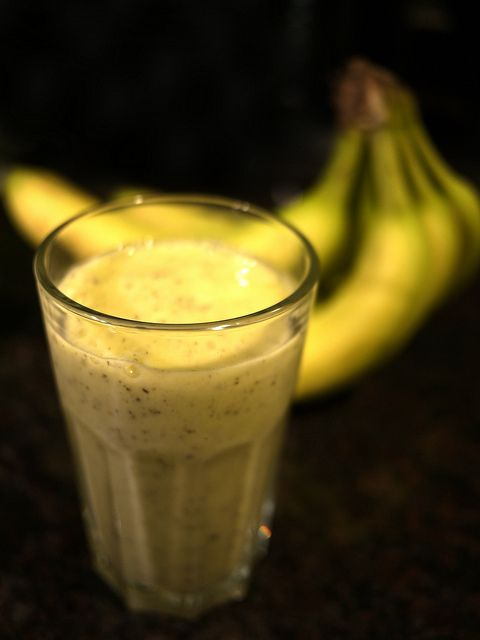 Ricetta frullato di banane