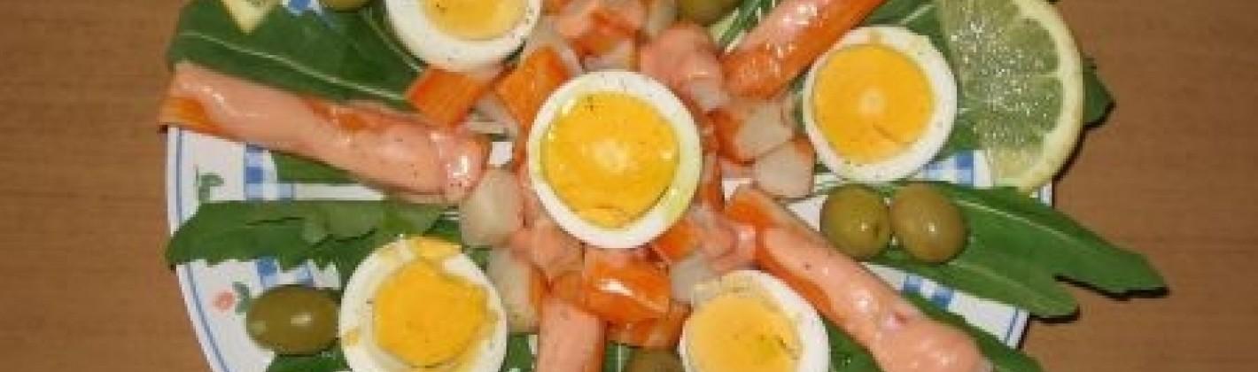 Ricetta surimi con le uova
