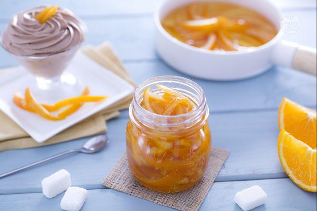 Ricetta scorze di arance candite