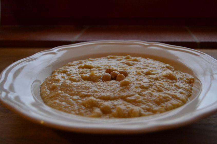 Ricetta zuppa di ceci e spinaci