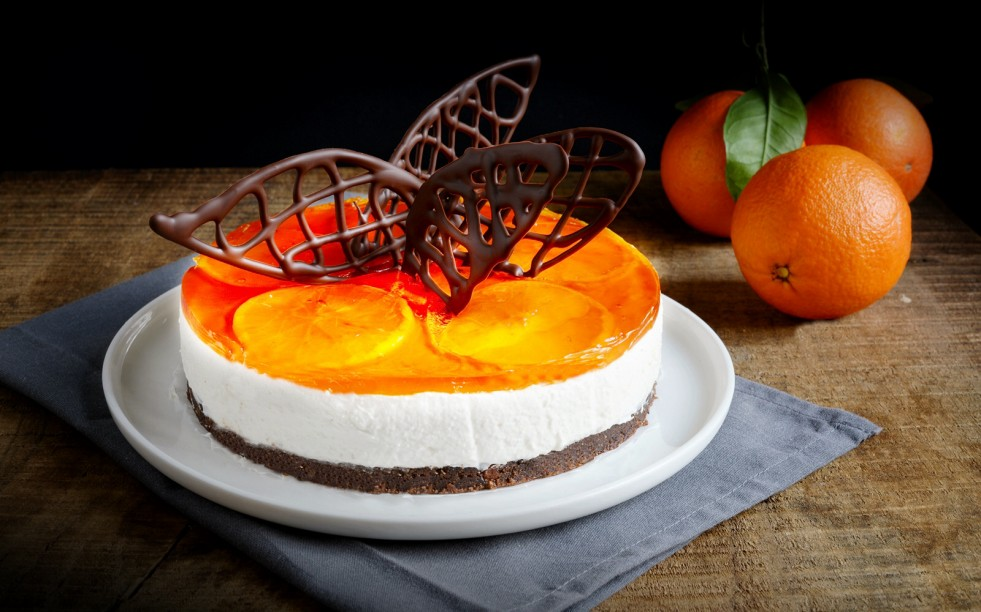 Ricetta cheesecake arancia e cioccolato