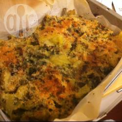 Carciofi e patate al gratin velocissimi