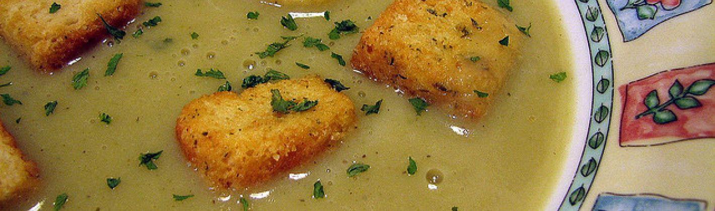 Ricetta zuppa invernale di verdure al gorgonzola