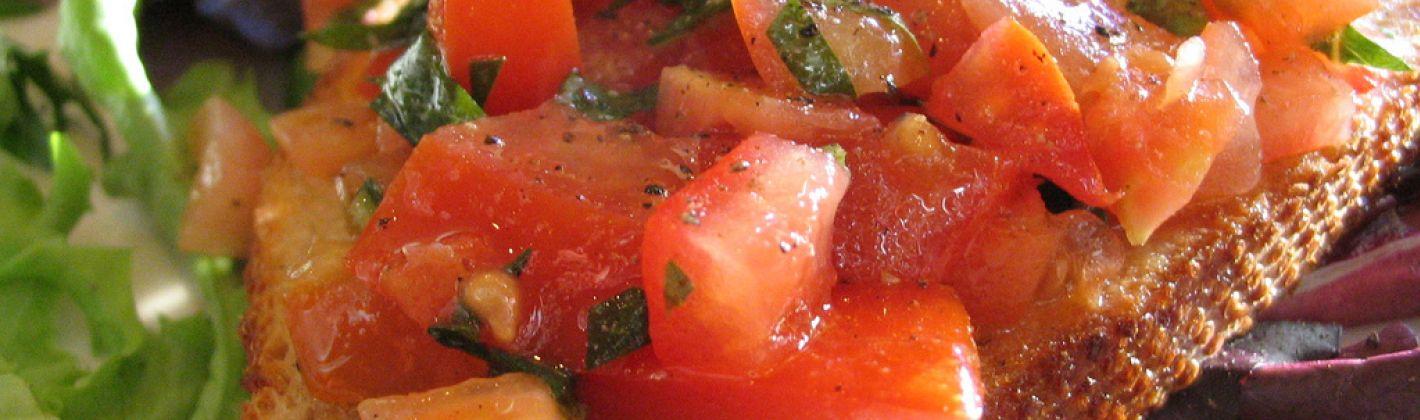Ricetta bruschette di pomodoro