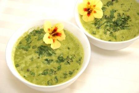 Ricetta zuppa verde