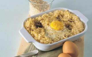 Ricetta sformato di uova e riso