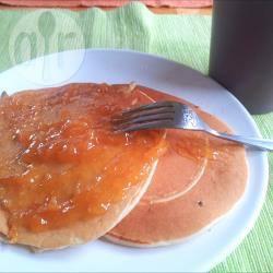Pancakes con marmellata